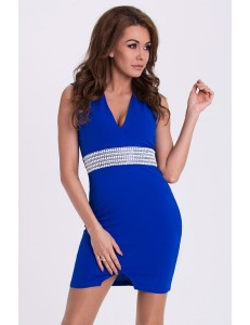 EMAMODA DRESS - cobalt 15004-2