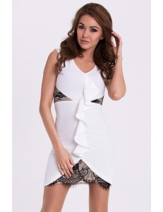 EMAMODA DRESS - WHITE 15003-2