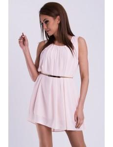 PINK BOOM DRESS - powder pink 14008-2