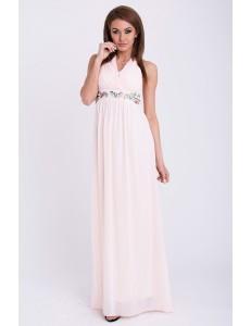 PINK BOOM DRESS - powder pink 14007-3