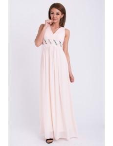 PINK BOOM DRESS - powder pink 14006-2