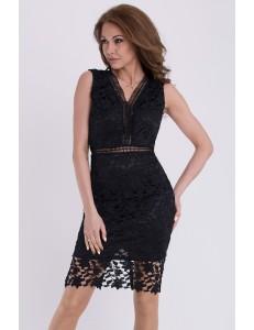 EMAMODA DRESS - BLACK 13007-5