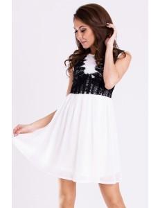 EMAMODA DRESS - WHITE 12004-4