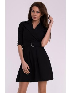 EMAMODA DRESS - BLACK 10017-2
