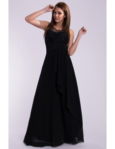 EVA & LOLA DRESS - BLACK 10005-4
