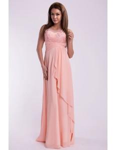 EVA & LOLA DRESS - powder pink 10005-2