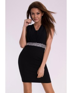 EMAMODA DRESS - BLACK 10001-2