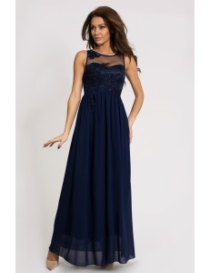EVA & LOLA DRESS - BLUE 9710-3