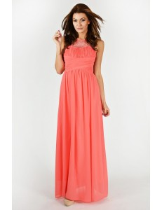 EVA & LOLA DRESS - Watermelon 9709-3