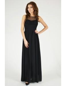 EVA & LOLA DRESS - BLACK 9709-1