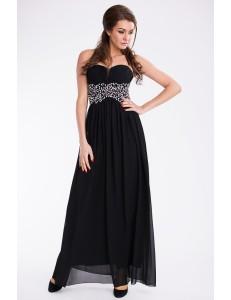 EVA & LOLA DRESS - BLACK 9610-1