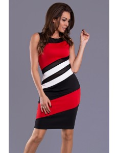 EMAMODA DRESS - RED 9102-2