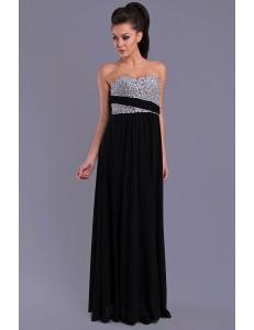EVA & LOLA DRESS - BLACK 7816-1