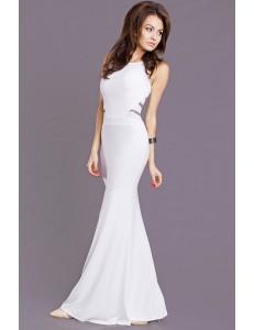EVA & LOLA DRESS WHITE 6908-1