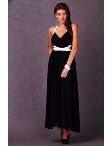 EMAMODA - LONG DRESS - BLACK 4610-3