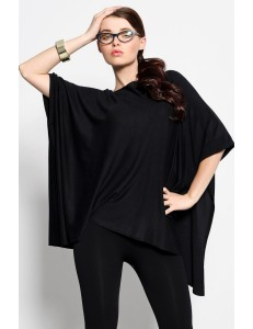 3916-4 A bat cape - black