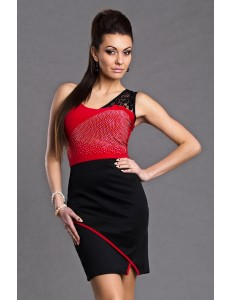PROGRESS DRESS - RED 5911-3