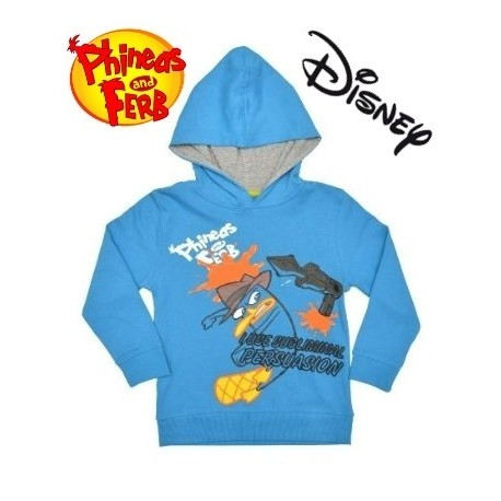 Phineas and Ferb Boys Hoody
