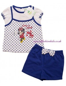 Baby Girls Minnie Mouse Set