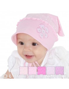 Baby girls bandana hats