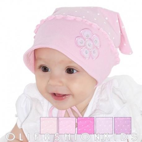 Baby girls bandana hats