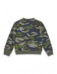 Boys dinosaur/army sweatshirt
